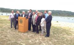 Legislator Spencer Announces Grants Received to Northport Sewage Plant Upgrades